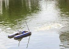 Turbinas para el oxígeno del aumento en el agua Fotos de archivo libres de regalías