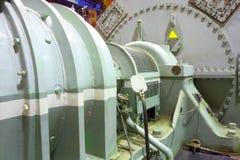 Turbine à vapeur de groupe électrogène Photos libres de droits
