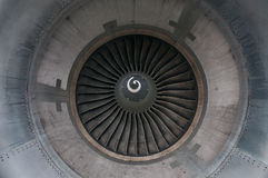 Turbine aircraft. Aircraft turbine closeup turbine aircraft Royalty Free Stock Image