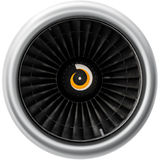 Turbine aircraft Stock Photography