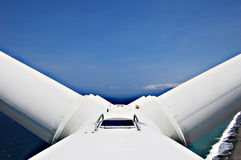 Turbine blade Royalty Free Stock Images