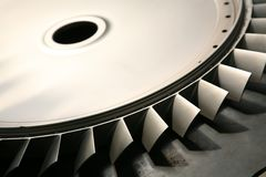 turbine blades Royalty Free Stock Photos