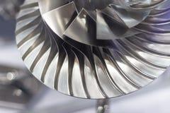 Turbine blades close up Stock Image