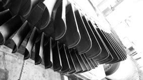 Turbine blades Royalty Free Stock Image