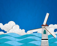 Turbine on Blue Royalty Free Stock Photos