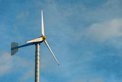 Turbine and blue sky Royalty Free Stock Photo