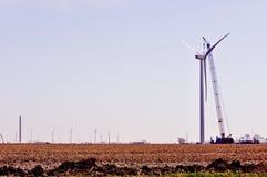 Turbine Construction - Right Stock Photography