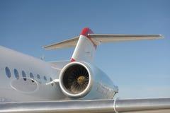 Turbine d'aéronefs Photos stock