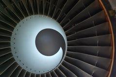 Turbine d'avion à réaction Image stock