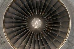 Turbine d'avion image stock