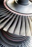 Turbine de générateur de centrale électrique Photos stock