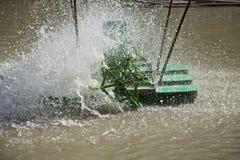 Turbine de l'eau d'air Photos libres de droits