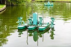 Turbine de l'eau, roue de turbine d'aérateur Images libres de droits