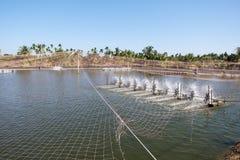 Turbine de l'eau tournant pour propre et le traitement Image libre de droits