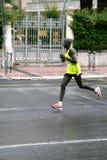 Turbine de marathon Chemchir Michael du Kenya Images stock