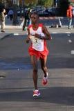 Turbine de marathon mâle d'élite Photos stock