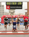 Turbine de marathon suisse Viktor Rothlin Photos libres de droits
