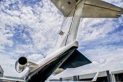 Turbine de taille moyenne de jet Photographie stock libre de droits