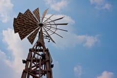 Turbine de vent de cru Image libre de droits