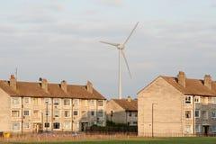Turbine de vent de ville Photos libres de droits