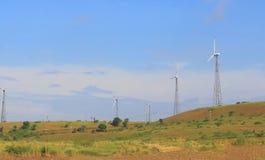 Turbine de vent, jaora, madhyapradesh, Inde Photo libre de droits