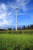 Turbine de vent rurale Image libre de droits