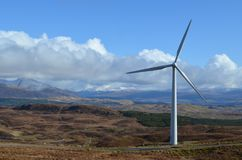 Turbine de Wnd photos libres de droits