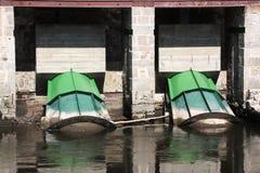 Turbine dell'acqua di idroelettricità Immagine Stock Libera da Diritti