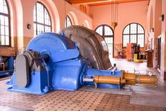 Turbine della centrale elettrica per la produzione dell'elettricità di Rodi Fiesso Fotografia Stock Libera da Diritti