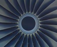 Turbine der Flugzeugmaschine stockfotografie