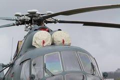 Turbine des Hubschraubers Lizenzfreie Stockfotos
