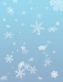 Turbine di neve di inverno Fotografia Stock Libera da Diritti