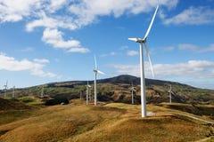 Turbine di vento Fotografie Stock