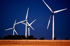 Turbine di vento Fotografia Stock