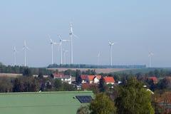 Turbine di vento Austria fotografia stock