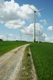 Turbine di vento di energia alternativa fotografie stock libere da diritti