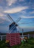 Turbine en mooie hemel Stock Fotografie