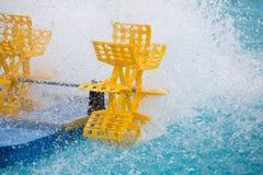 Turbine en plastique de l'eau Image libre de droits