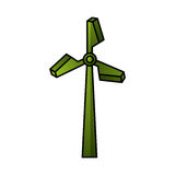Turbine energy isolated icon Stock Photography