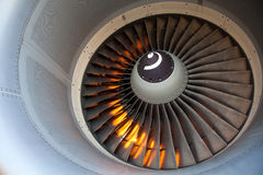 Turbine engine Stock Photography
