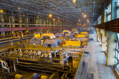 Turbine factory Stock Photography
