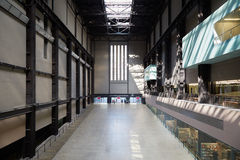 Turbine Hall in Tate Modern Art Gallery in London Royalty Free Stock Photography