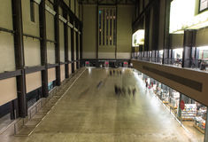 The Turbine Hall in Tate Modern Art Gallery, London Royalty Free Stock Photos