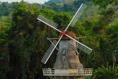 The turbine home. In jungle Stock Photo
