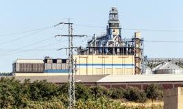 Turbine Industry in Navarra Stock Image