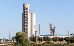 Turbine Industry in Navarra Royalty Free Stock Images