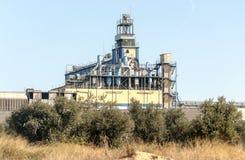 Turbine Industry in Navarra Stock Photos