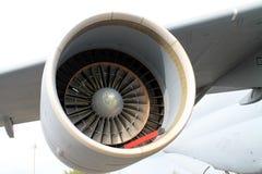 Turbine military airplane Stock Photos