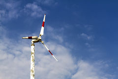 Turbine natural with sky Stock Photos
