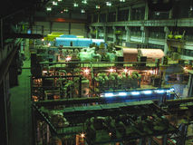 Turbine a vapore, macchinario, tubi, tubi Immagine Stock